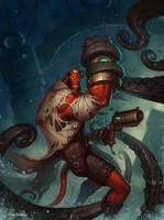 Hellboy Final by Zagumennyy