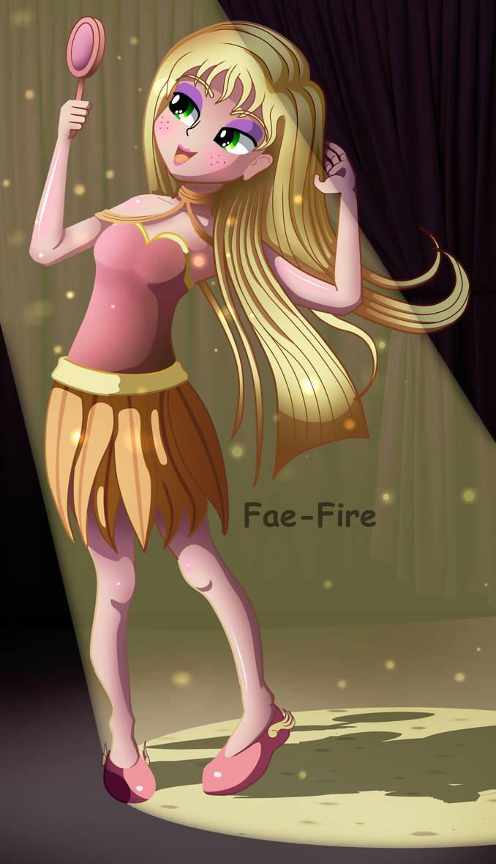 Eraviel (EQG style) by Fae-Fire