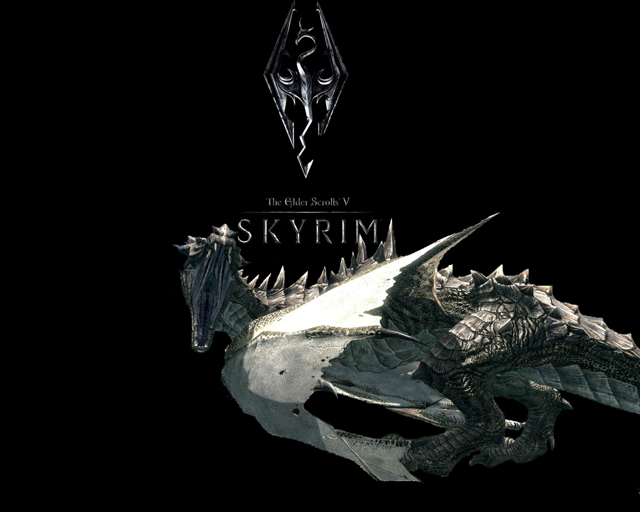 the elder scrolls v: skyrim wallpaperantonioz31 on deviantart