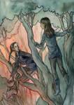 Hunger Games - Katniss + Rue