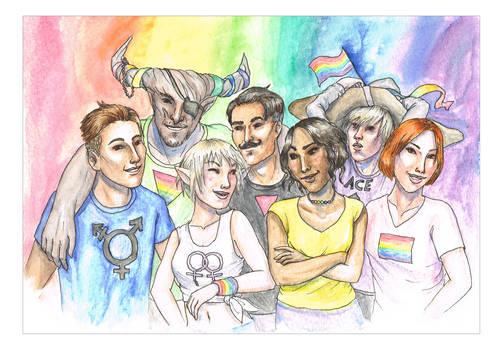 Dragon Age Pride!