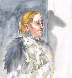 Anders and Cole by liannimal