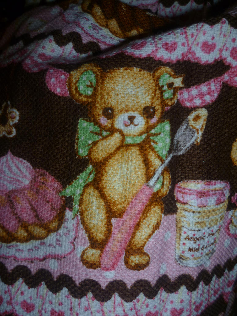 Angelic Pretty Little Bear's Cafe Bear by CorporatePuppet