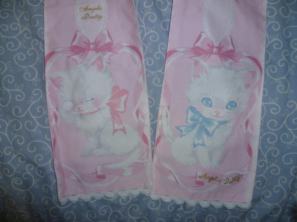 Whimsical Vinilla-Chan  Waist ties~~~AKA kitties! by CorporatePuppet