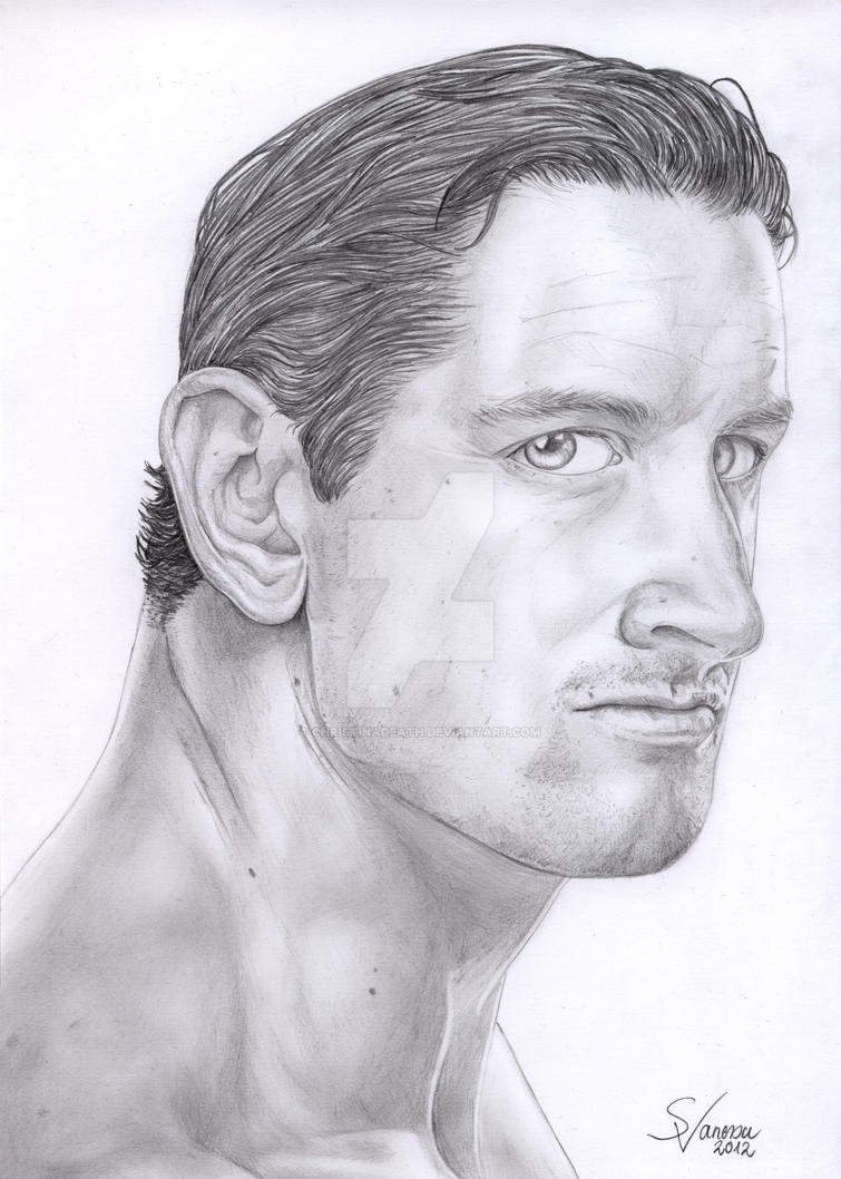 Wade Barrett I by ChristinaDeath