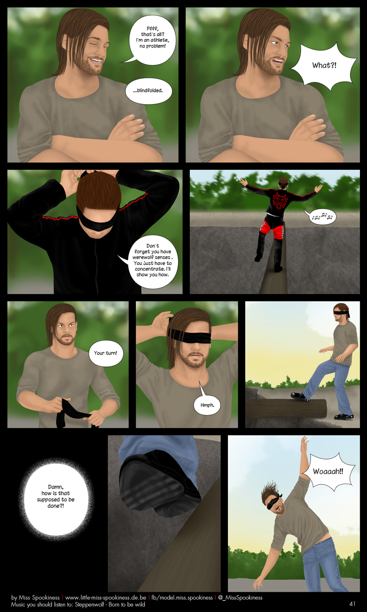 Cape Town Werewolf Comic - Page 41 by ChristinaDeath