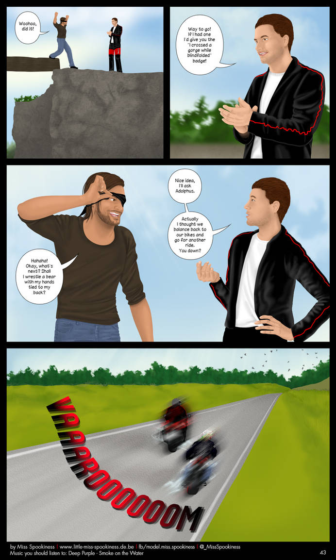 Cape Town Werewolf Comic - Page 43 by ChristinaDeath