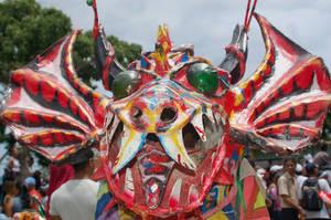 dancing devils mask