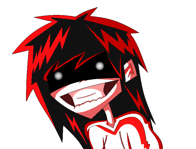AniArt Jeff The Killer ((G)) by DaniDrama