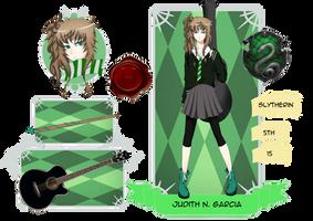 Admoneo: Judith N. Garcia by PhantomPuppeteer