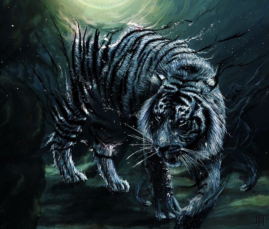 The Gallery - Page 5 Underwater_tiger_by_ng01-d37cx50