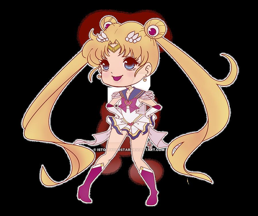 Super Sailor Moon by istoleyourstar
