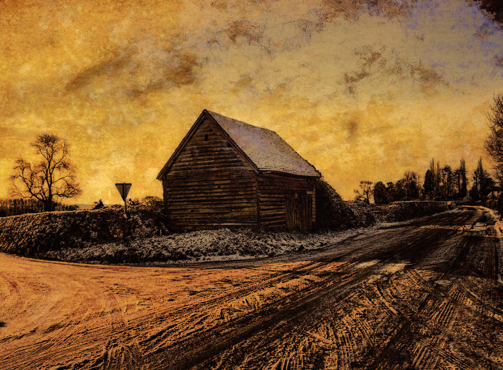 Old barn by runwhat
