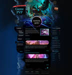 Game Website Template
