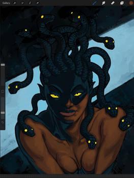 Gorgon shadow WIP