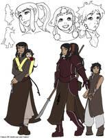 Vaelia's family by drowtales