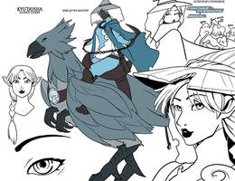 Kyudosha by drowtales