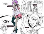 slave girl Sakkara by drowtales