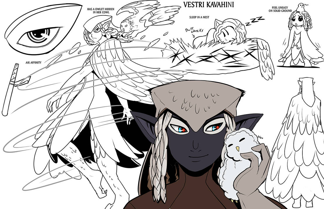 ch46 Vestri by drowtales