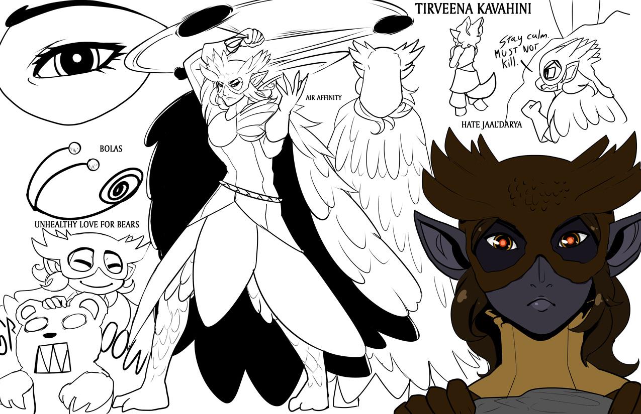 ch46 Tirveena by drowtales