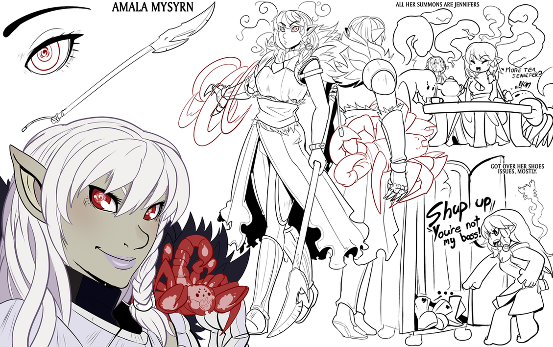 Amala Adult by drowtales