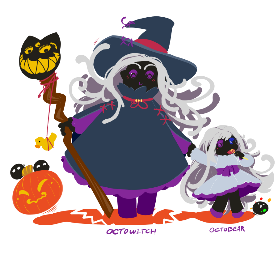 Octowitch by drowtales