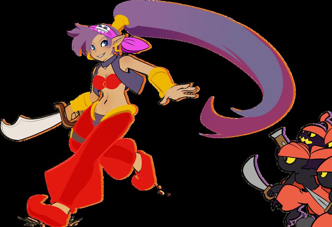 Shantae by drowtales