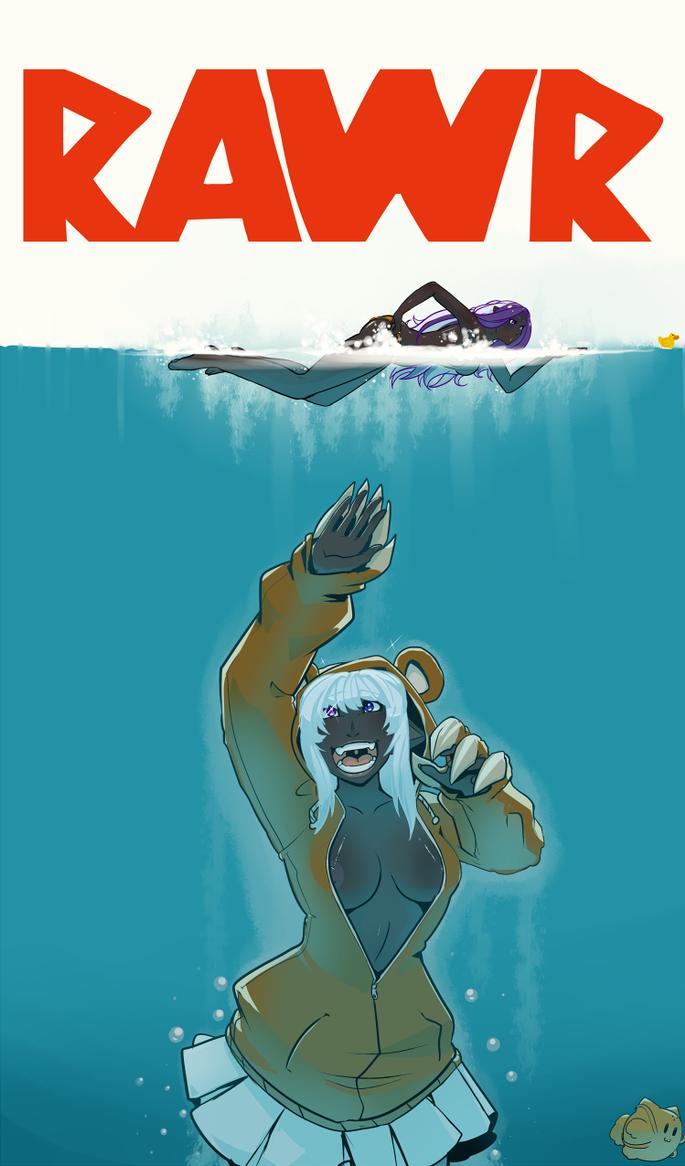 JawsBear by drowtales