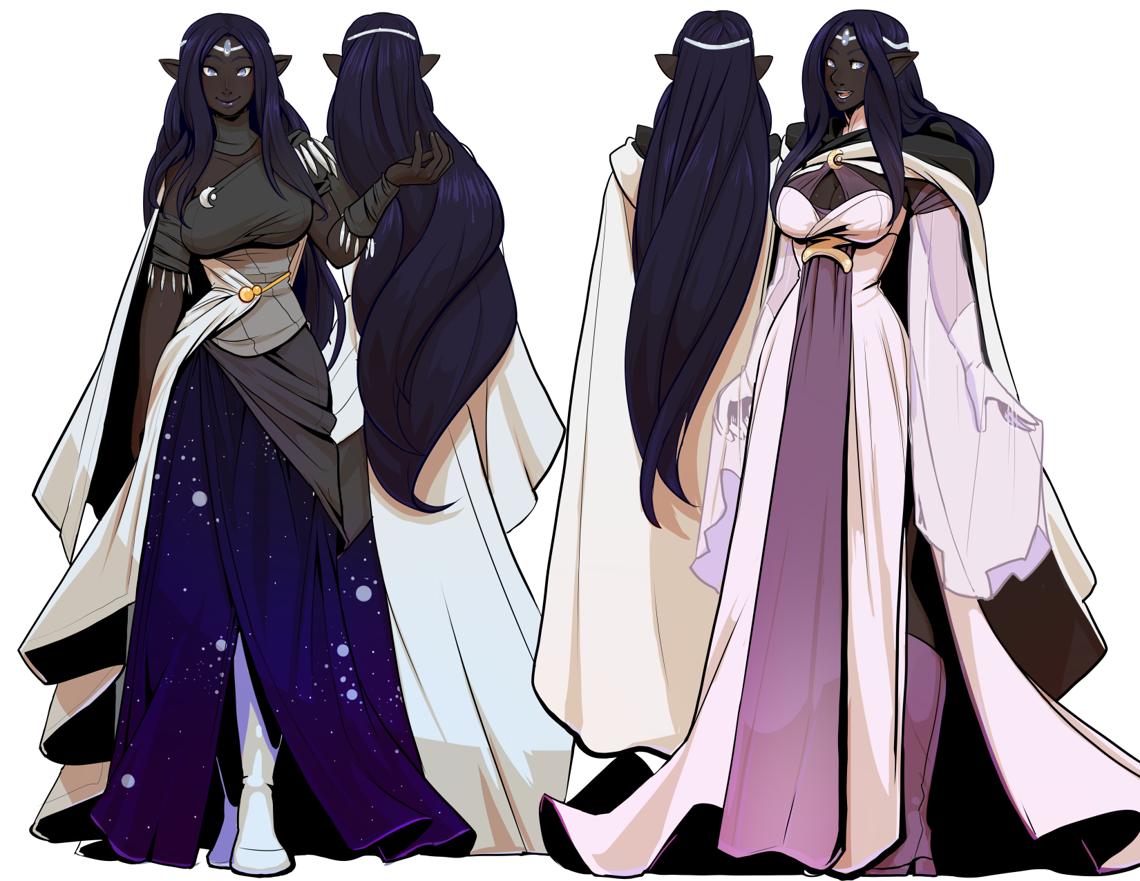 Vlashrod Neh dresses by drowtales