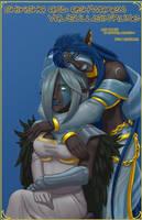 Shiksha and Ash'waren by drowtales