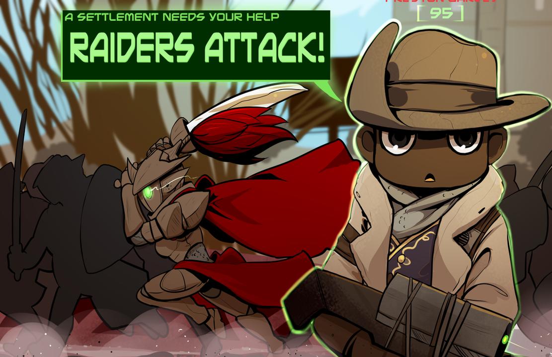 Preston Raider by drowtales