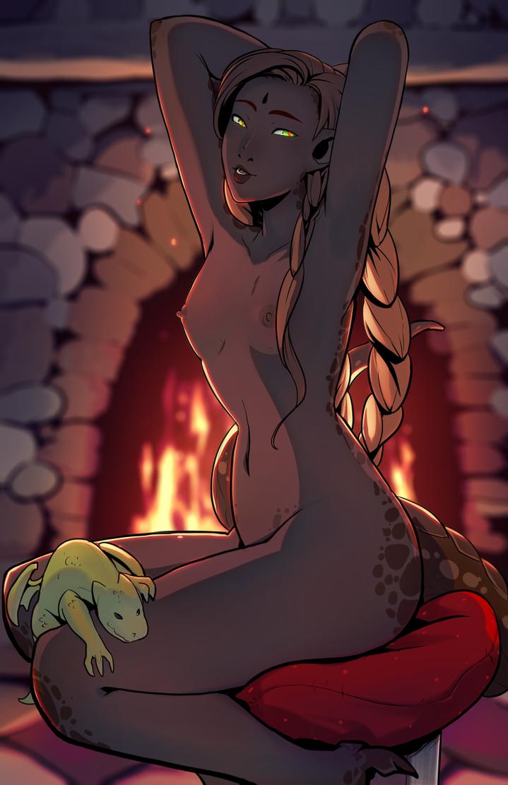 Siashodra nude by drowtales