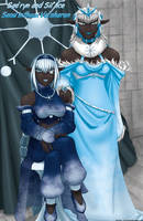 Sillice and Sae'ryne by drowtales