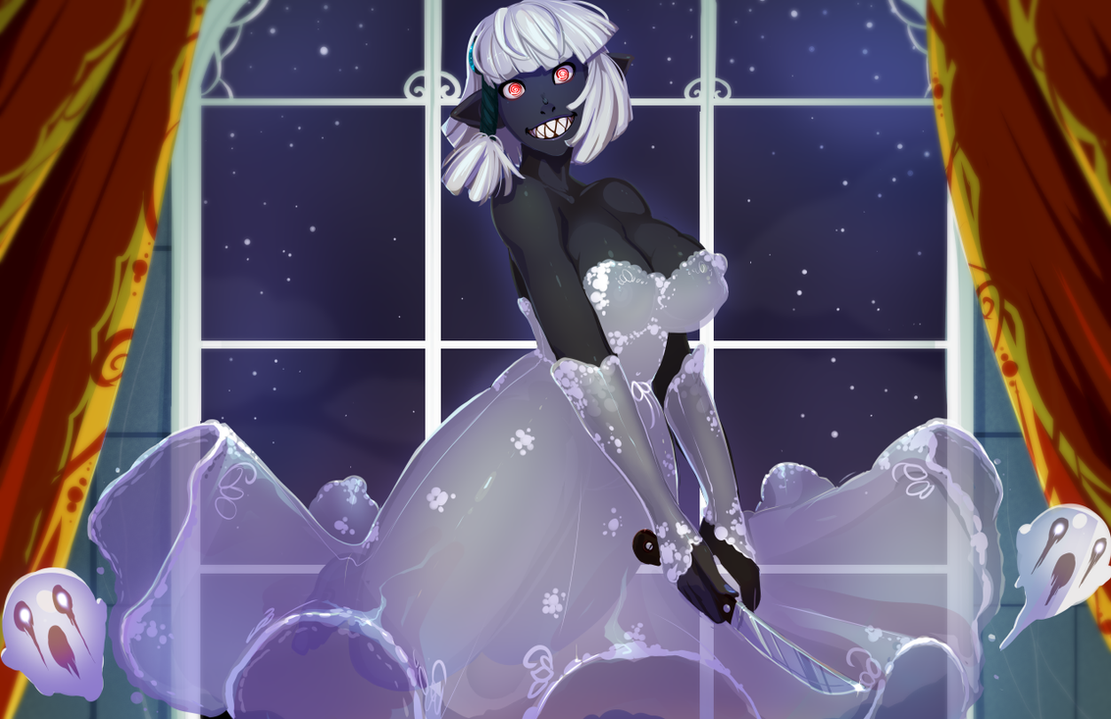Ghost Shinae by drowtales