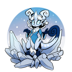 Icesprite by drowtales