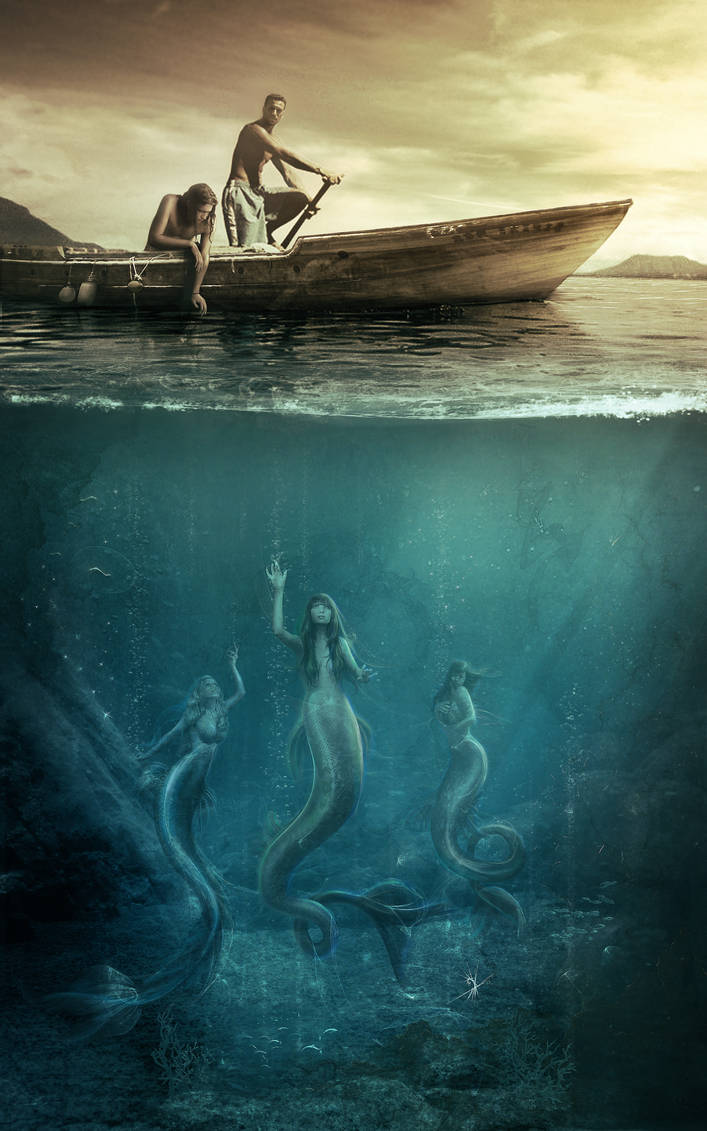 mermaid by Vasylina