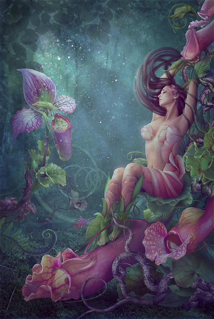 Flower girl by Vasylina