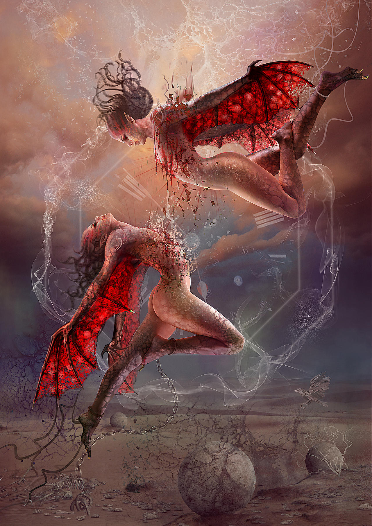 Blood Zodiac. Gemini II by Vasylina