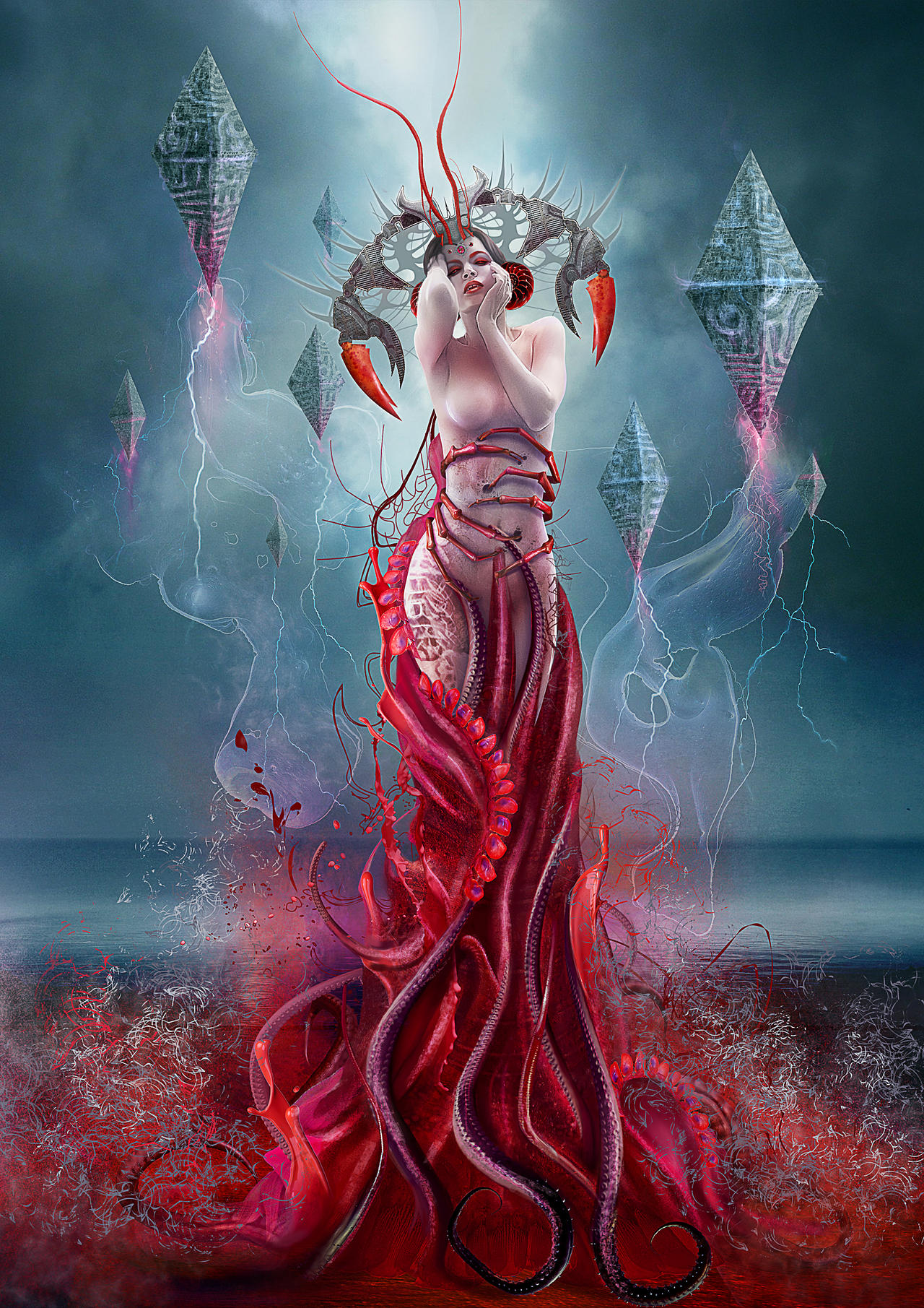 Blood Zodiac. Cancer by Vasylina