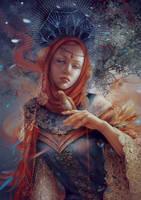 Mystery. Moon goddess by Vasylina