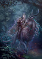 Twilight rider by Vasylina