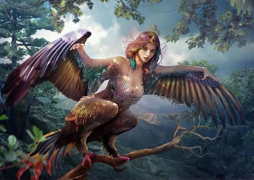 Slavic mythology. Sirin