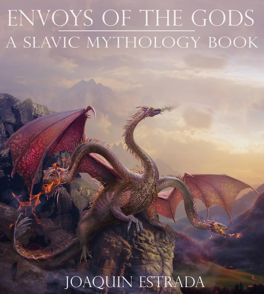 Slavic mythology. Zmey Gorynych by Vasylina