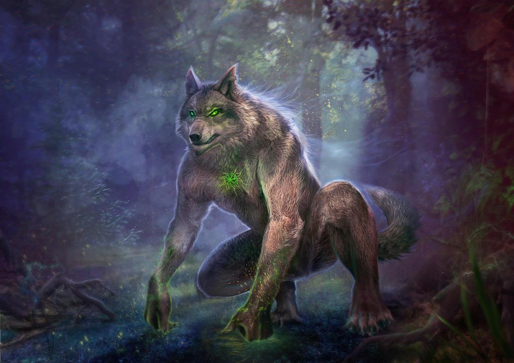 Slavic mythology. Volkolak by Vasylina
