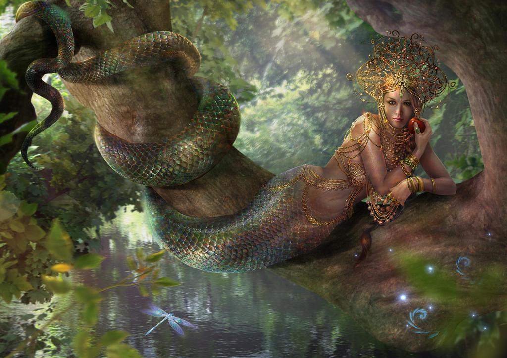 Slavic mythology. Vuzhalka by Vasylina