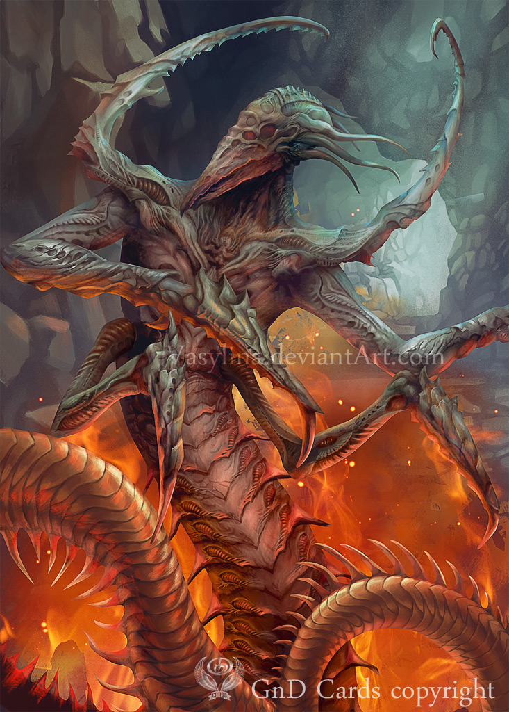Creature Sliver by Vasylina
