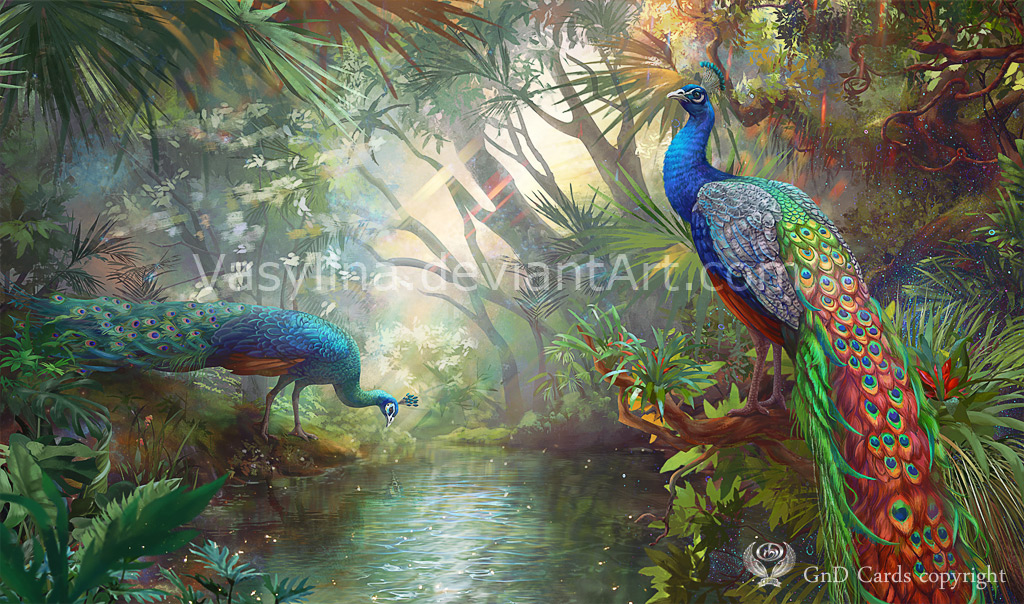 Peacock by Vasylina