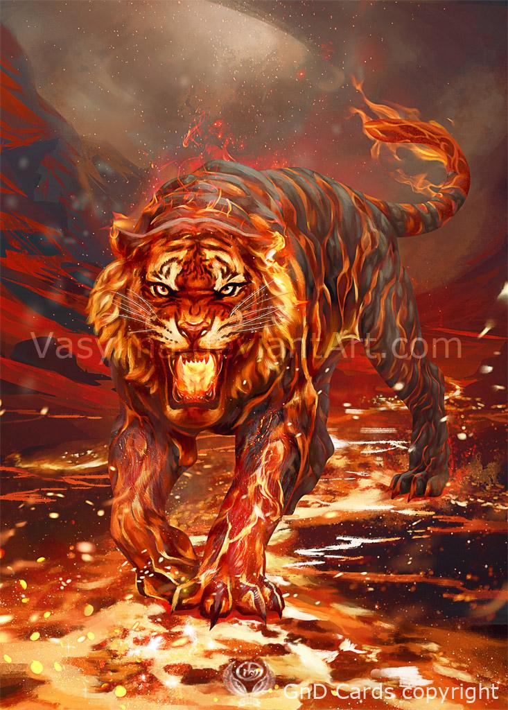 Fire Elemental by Vasylina on DeviantArt