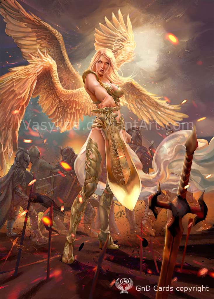 Angel Warrior By Vasylina On DeviantArt
