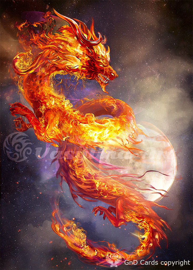 Red Fire Dragon: Fire Dragon By Vasylina On DeviantArt